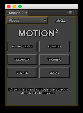 AE脚本Motion2中文汉化版MG动画脚本 AE脚本-第25张