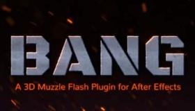 AE真实的枪火插件 – QP Bang v1.0.3