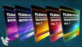 Premiere 五套特效转场插件 FilmImpact 3.6.3 中文一键安装版