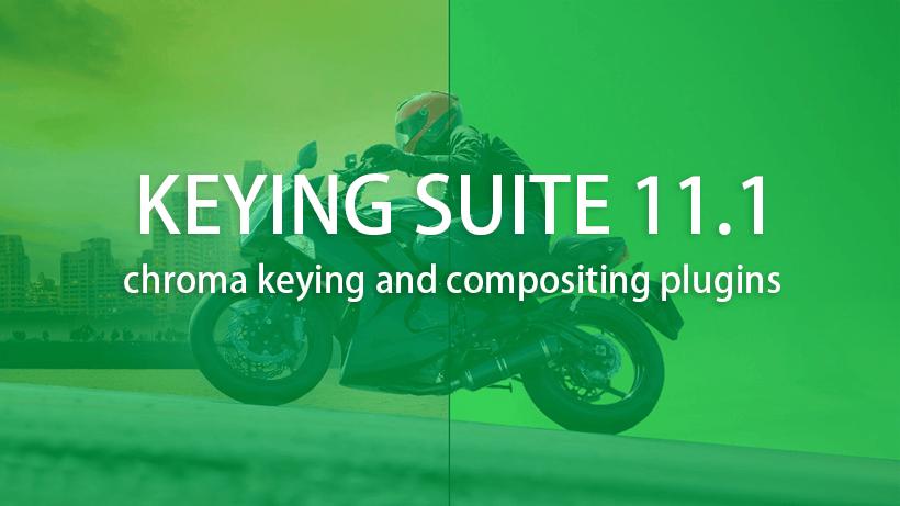 Red Giant Keying Suite 11.1.11  红巨星抠像套装【抠像必备】 AE插件-第1张