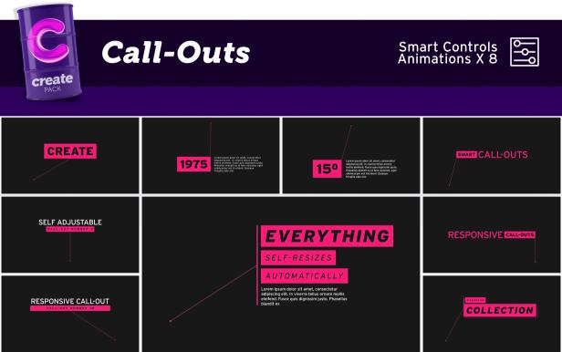 Create Pack 3600+动画元素工具包大集合MG动画必备工具包 AE扩展-第12张