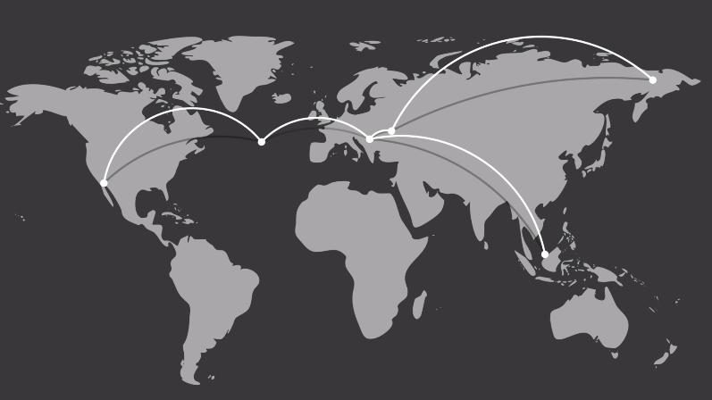 Lines Creator v2.0.1 一键创建地图连线线条 AE脚本 AE脚本-第1张