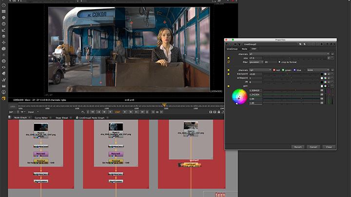 Nuke Studio 11.3v6 节点式影视特效合成软件 Nuke-第2张