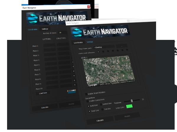 AE模板+脚本控制-超级实用地球定位转场连线模板 Earth Navigator AE模板-第1张