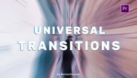PR通用无缝转场预设 Transitions – Universal Seamless
