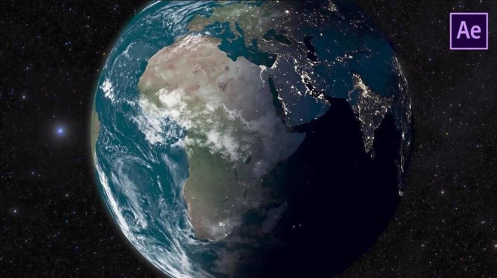 AE模板-Realistic Planets真实地球行星月球火星太阳创建宇宙星系AE模板+使用教程 AE教程-第1张