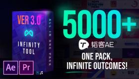 Motion Factory素材包-Infinity Tool v3.0 5000+文字图形动画模板