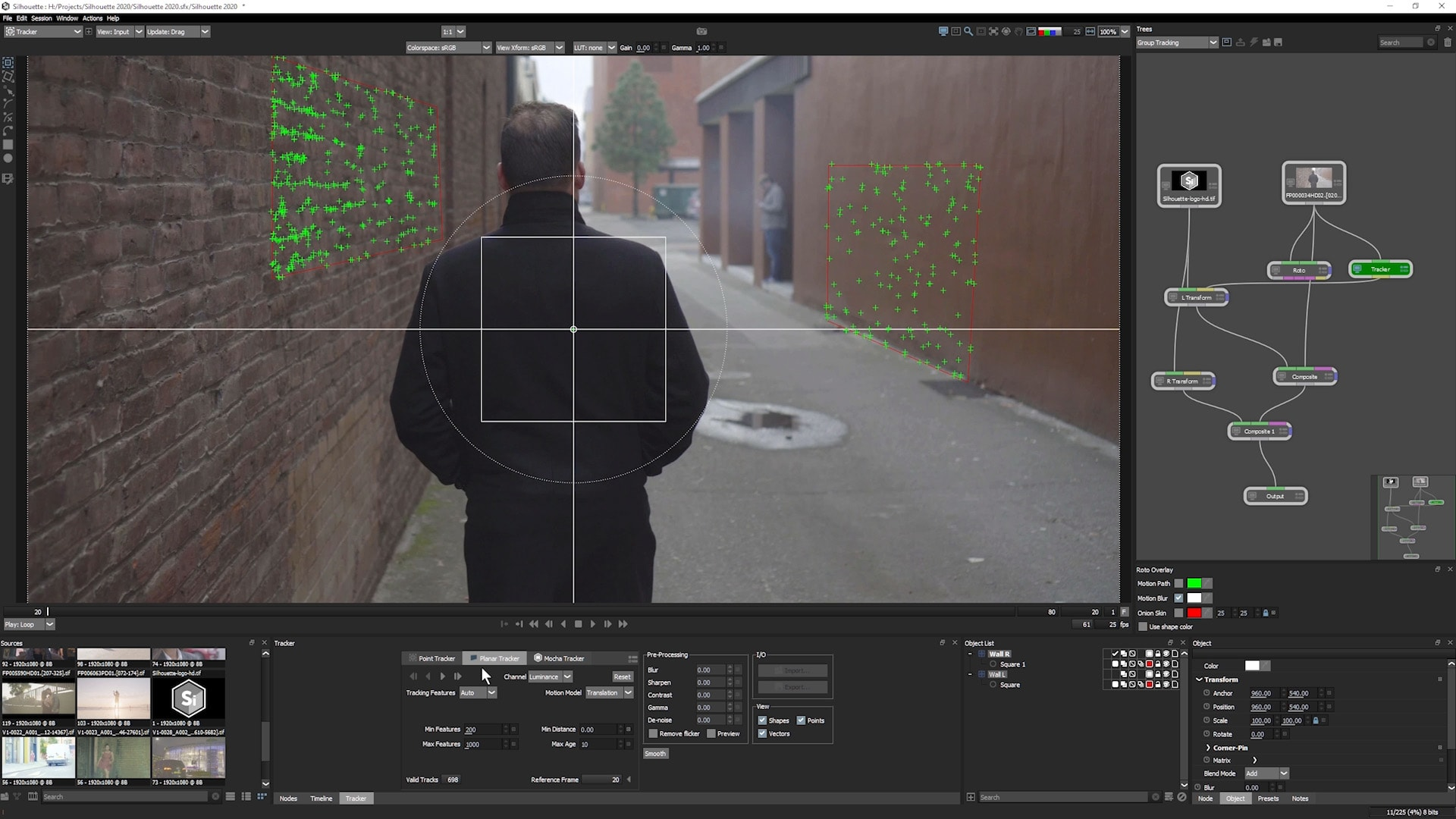 专业影视抠像Roto威亚擦除软件 Boris FX Silhouette 2020.0.1 Win x64 Silhouette-第7张