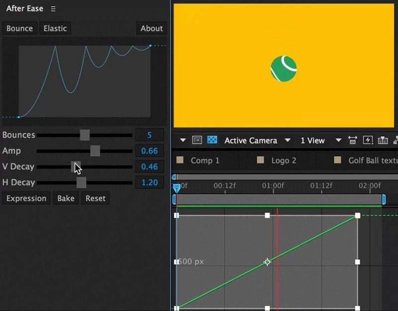 AE脚本-关键帧动画曲线缓入缓出调节 After Ease v1.1.3 AE脚本-第3张