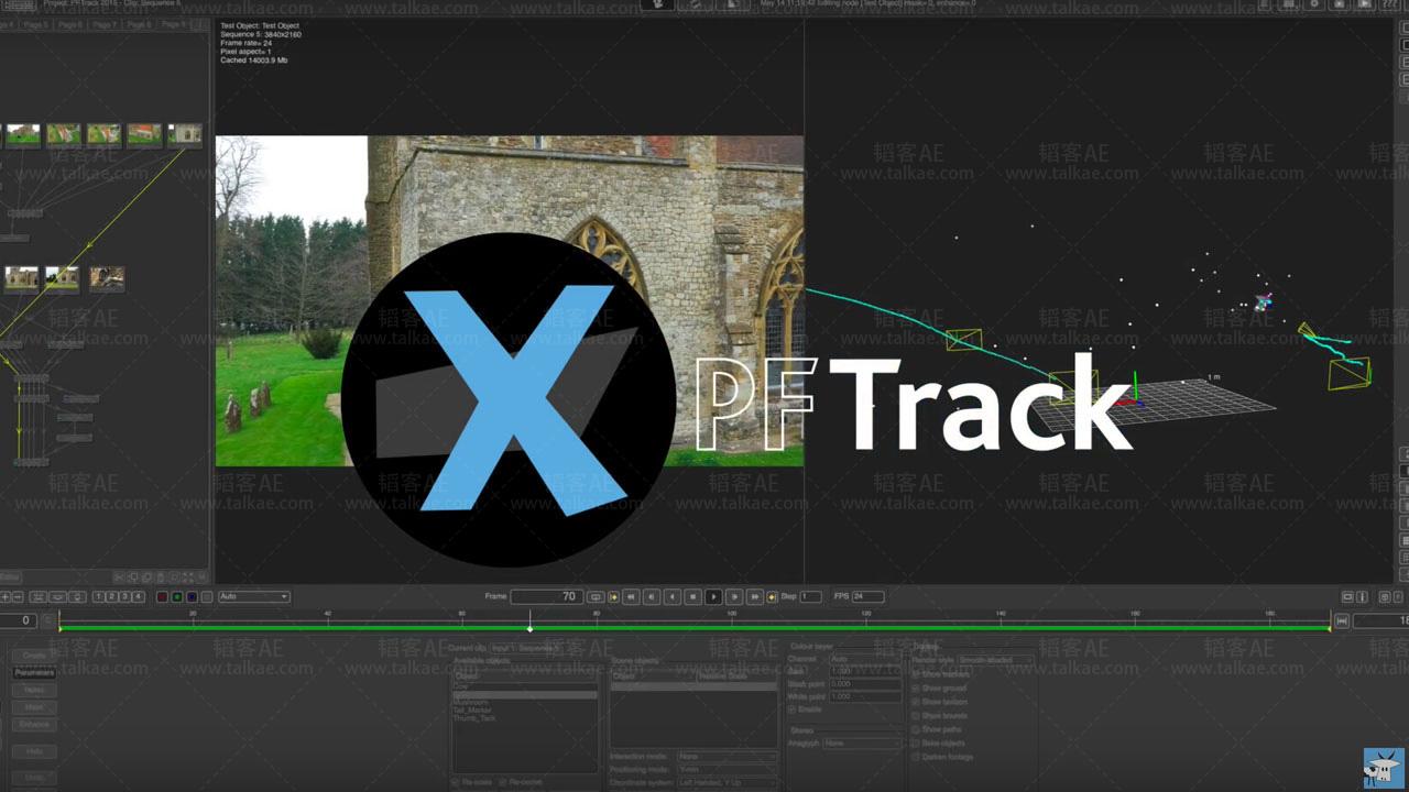 PFTrack 专业摄像机反求跟踪软件 The Pixel Farm PFTrack 2017.06.23 Win/Mac破解版 PFTrack-第1张