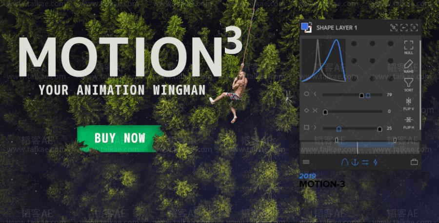 AE扩展-MG运动图形动画脚本 Mt. Mograph Motion v3.22 Win/Mac破解版 + 使用教程 AE脚本-第1张