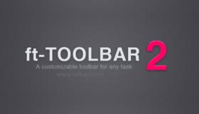 AEscripts ft-toolbar v2.5 自定义特效快捷工具栏脚本-AE脚本