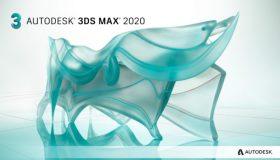Autodesk 3DS MAX 2020 三维动画制作和渲染软件-简体/繁体/英文多语言