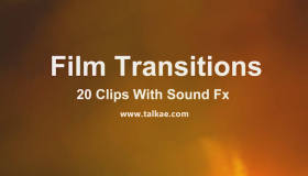4K电影胶片过渡转场效果 Film Transitions – 4K视频素材